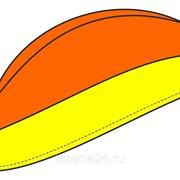 """Пилотка """"Стандарт"""" оранжево-желтая фото"""