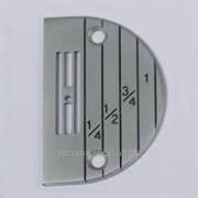 Игольная пластина для промышленных машин для тонких тканей Е20, E18 фото
