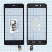 Сенсорное стекло (тачскрин) для Micromax Q380 Canvas Spark черное, Диагональ 4.7 фото