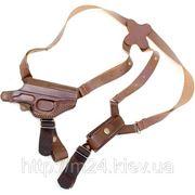 Кобура универсальная (оперативного,поясного) ношения для пистолета ПМ с чехлом обоймы фото