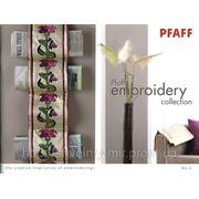 Каталог вышивальных дизайнов Pfaff фото