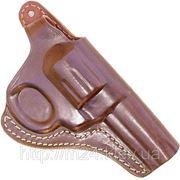 Кобура поясная для пневматического револьвера АЛЬФА, Stalker ( длина ствола 4 дюйма) фото