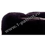 Шапка - ушанка ВМФ уставная (овчина, кожа) черная: Размер: 59 фото