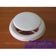 Анемостат пластиковый DVA 250 фото