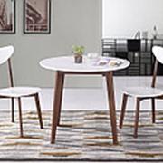Обеденная группа для столовой и гостиной Tetchair Стол BOSCO + Стул MAXI с твёрдым сидением (2 шт) фото