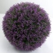 Искусственный декоративный шар роз., d 35 см фото
