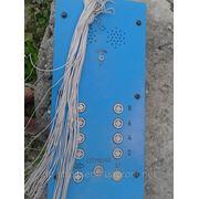 ПОСТ ПКМ 35П-1Ж-8 управления лифтом на 8 остановок c кабелем управления гибким 18*0,75 фото