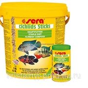 Корм для рыб Sera Cichlid Sticks 10л фото