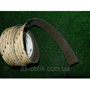 Самоклеющаяся лента на ступени 25 мм коричневая фото