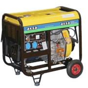 Дизельный генератор Aksa AAP 8000DE фото