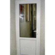 Балконная дверь Rehau-двухкамерный пакет-одна створка,балконный блок ,пластиковая балконная дверь Rehau фото