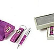 Подарочный набор: бумажник, ручка, брелок 21*16*4см. 140301 фото