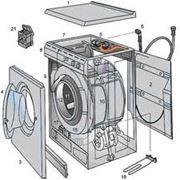 Ремонт подключение стиральных машин-автоматов в Луганске и пригороде фото