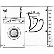 Подключение стиральных машин, посудомоечных фото