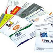 Печать визитных карточек фото
