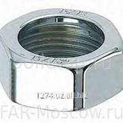 """Гайка 1"""" для одно- или двутрубных узлов LadyFAR, серебро, артикул FL 0365 фото"""