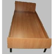 Кровать одинарная усиленная КО-4 фото