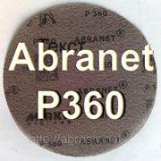 Купить шлифовальный круг Mirka Abranet Р360 Финляндия сетка-круг для орбитальной машинки d=150мм фото