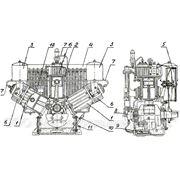 Запчасные части и комплектующие для компрессоров КТ-6 фото