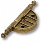 Петля врезная, цвет - старая бронза 3310-22 фото