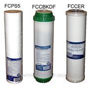 Комплект сменных картриджей для фильтров воды 3шт №2 фото