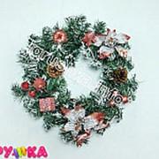 Венок новогодний с аксессуарами 52-00505-67 фото
