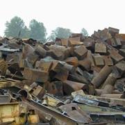 Габаритный стальной кусковой лом и отходы фото