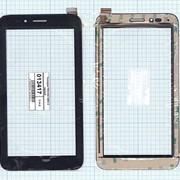 Сенсорное стекло (тачскрин) TPC1252 VER1.0 черный, Диагональ 7 фото