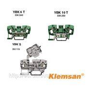 6 YBK 6T Клемма пружинная заземляющая 336240_KL фото