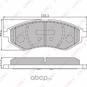 BD1803 LYNXauto Колодки тормозные дисковые | перед | CHEVROLET Aveo05>/KaloS 05> фото