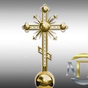 Изготовление крестов накупольны с покрытием нитридом титана фото