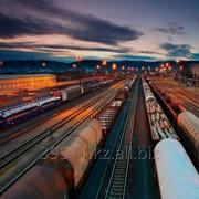 Транзитные перевозки щебня в универсальных вагонах фото