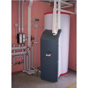 Монтаж систем кондиционирования и вентиляции отопления. фото