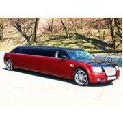 Прокат аренда лимузинов Chrysler 300C Limo фото