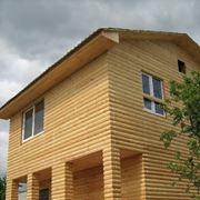 Дома из блокхауза, строим дома, магазины, торговые павильены, пристройки из блокхауза по всей Украине фото