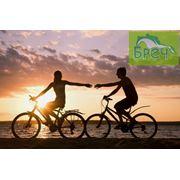 Прокат аренда горно-туристических велосипедов для активного отдыха. Прогулки на велосипеде. Велотуры. Велопрогулки. фото