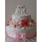 Торт весільний 48 фото