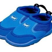Тапочки для плавания голубые,синие, красные фото