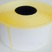 Термотрансферные этикетки 50х70, 1000 этикеток в роле фото