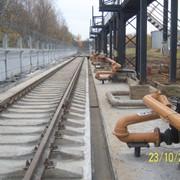 Строительство выгрузочных эстакад и железнодорожных рамп фото