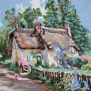 Картина Украинская хатка фото