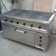 Электроплита шестиконфорочная с духовкой купить в Ялте фото