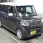 Микровэн турбо HONDA N BOX PLUS кузов JF1 класса минивэн модификация G Turbo гв 2012 пробег 62 т.км коричневый фото