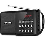Радиоприемник Sven PS-60, usb, microSD, FM, фонарик, цифровой фото