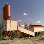 Бетоносмесительная установка СБ-145-4 (бетонный завод) фото