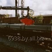 Краны гидравлические (гидроманипуляторы) с различными навесками для монтажа на дрезину или ж/д платформу фото