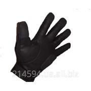 Тактические кожаные перчатки Mechanics фото