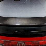 Карбоновый задний спойлер на Honda Civic Type R фото