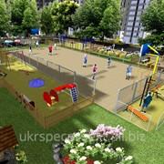 Проектирование детских и спортивных площадок, благоустройство, ландшафтный дизайн фото