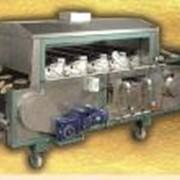 Печь газовая тунельная фото